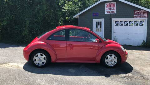 2003 Volkswagen New Beetle for sale at KMK Motors in Latham NY