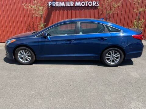 2017 Hyundai Sonata for sale at PREMIERMOTORS  INC. in Milton Freewater OR