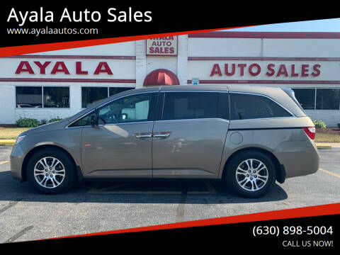 2013 Honda Odyssey for sale at Ayala Auto Sales in Aurora IL