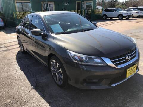 2014 Honda Accord for sale at Pasadena Auto Planet in Houston TX