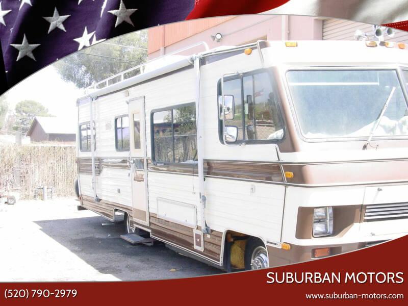 1986 Tiffin MOTORHOME for sale at Suburban Motors in Tucson AZ