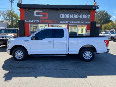 2016 Ford F-150 for sale at Cars Direct in Ontario CA
