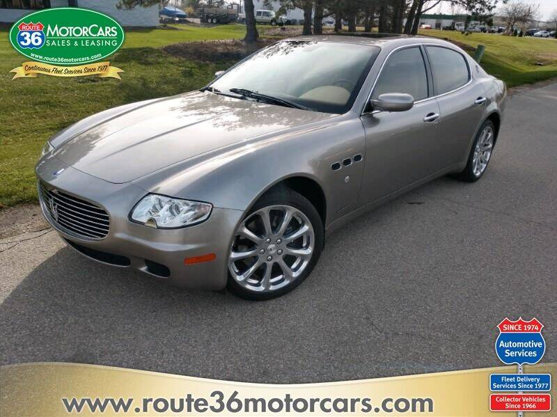 2006 Maserati Quattroporte for sale at ROUTE 36 MOTORCARS in Dublin OH
