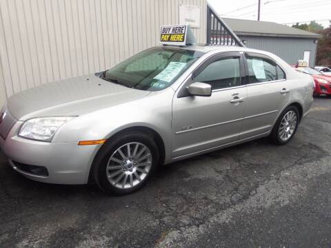 2008 Mercury Milan for sale at Fulmer Auto Cycle Sales - Fulmer Auto Sales in Easton PA