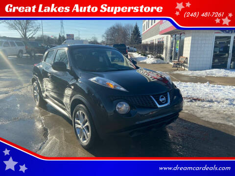 2014 Nissan JUKE for sale at Great Lakes Auto Superstore in Pontiac MI