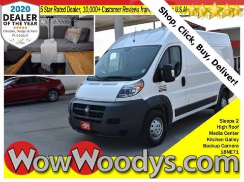 2018 RAM ProMaster Cargo for sale at WOODY'S AUTOMOTIVE GROUP in Chillicothe MO