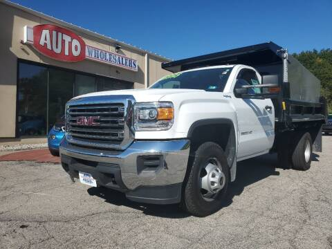 2017 GMC Sierra 3500HD CC for sale at Auto Wholesalers Of Hooksett in Hooksett NH