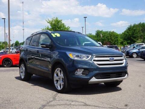 2019 Ford Escape for sale at Szott Ford in Holly MI