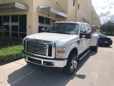 2010 Ford F-350 Super Duty for sale at AUTOSPORT in Wellington FL