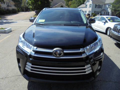 2019 Toyota Highlander for sale at Washington Street Auto Sales in Canton MA
