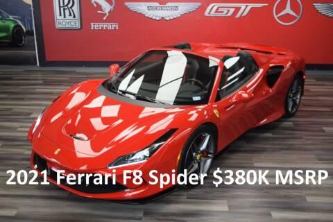 2021 Ferrari F8 Spider for sale at Icon Exotics in Houston TX