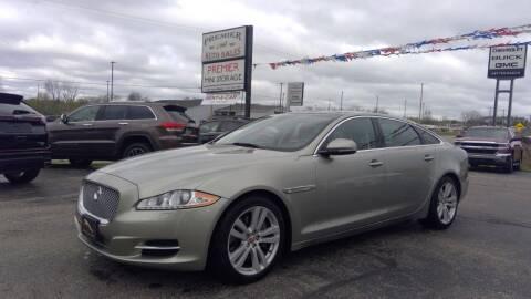 2014 Jaguar XJL for sale at Premier Auto Sales Inc. in Big Rapids MI