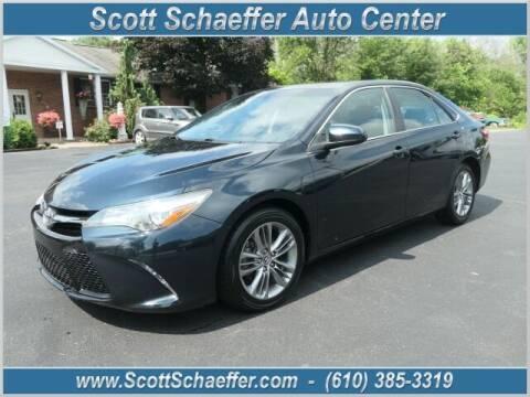 2016 Toyota Camry for sale at Scott Schaeffer Auto Center in Birdsboro PA