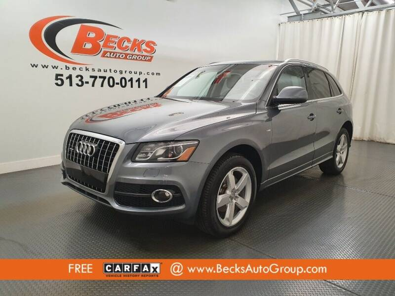 2012 Audi Q5 for sale at Becks Auto Group in Mason OH