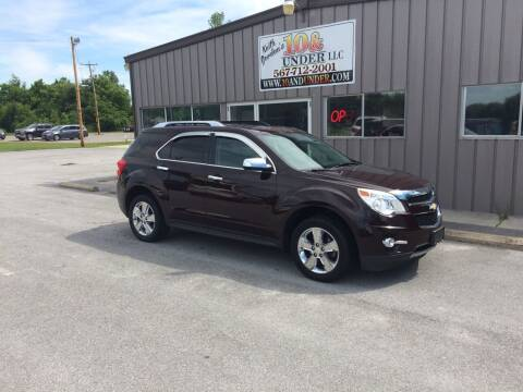 2011 Chevrolet Equinox for sale at KEITH JORDAN'S 10 & UNDER in Lima OH