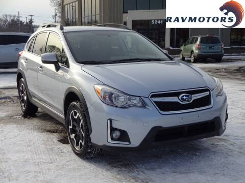 2017 Subaru Crosstrek for sale at RAVMOTORS 2 in Crystal MN