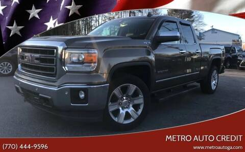 2015 GMC Sierra 1500 for sale at Used Imports Auto - Metro Auto Credit in Smyrna GA