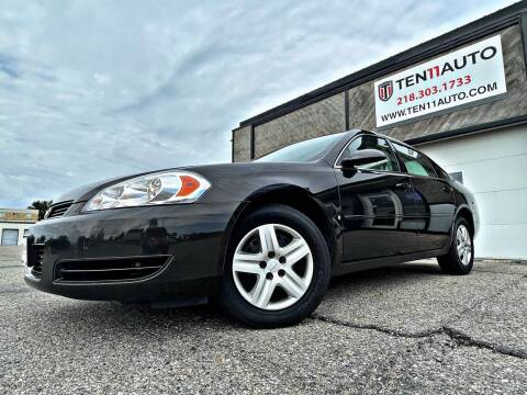 2008 Chevrolet Impala for sale at Ten 11 Auto LLC in Dilworth MN