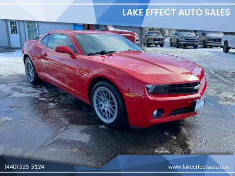 2012 Chevrolet Camaro for sale at Lake Effect Auto Sales in Chardon OH