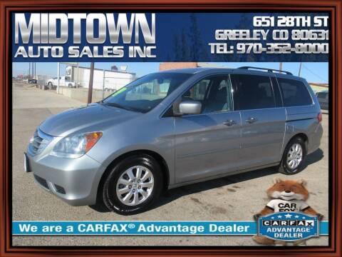 2010 Honda Odyssey for sale at MIDTOWN AUTO SALES INC in Greeley CO