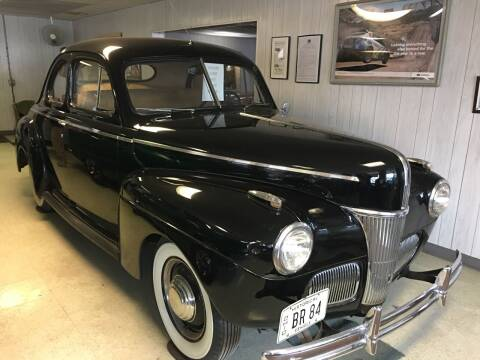1941 Ford Custom Deluxe Business Coupe for sale at K O Motors in Akron OH