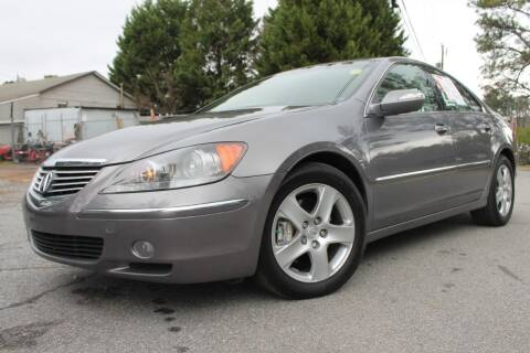 2005 Acura RL for sale at ATLANTA AUTO WAY in Duluth GA