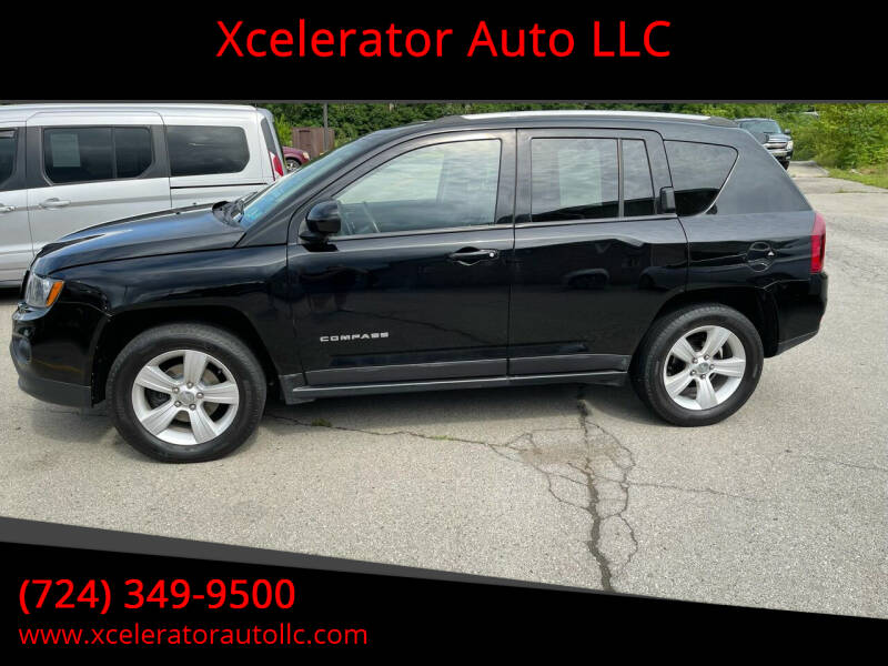 2015 Jeep Compass for sale at Xcelerator Auto LLC in Indiana PA