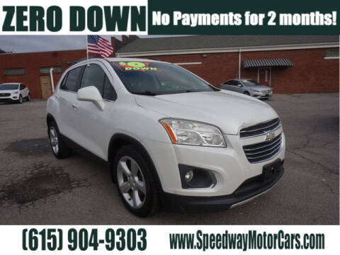 2015 Chevrolet Trax for sale at Speedway Motors in Murfreesboro TN