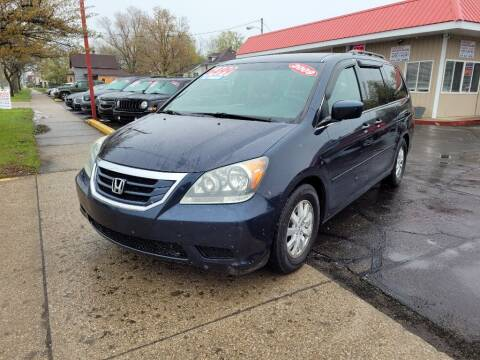 2009 Honda Odyssey for sale at THE PATRIOT AUTO GROUP LLC in Elkhart IN