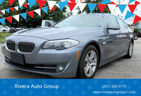 2013 BMW 5 Series for sale at Rivera Auto Group in Spring TX