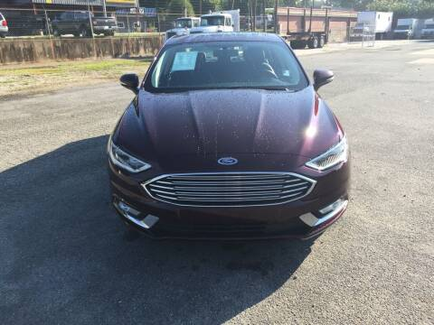 2017 Ford Fusion for sale at Beckham's Used Cars in Milledgeville GA