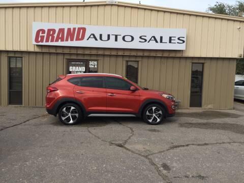 2017 Hyundai Tucson for sale at GRAND AUTO SALES in Grand Island NE