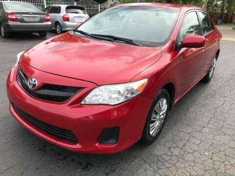 2011 Toyota Corolla for sale at Credit One Auto Group in Joliet IL