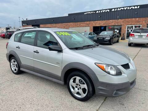 2004 Pontiac Vibe for sale at Motor City Auto Auction in Fraser MI