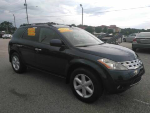 2004 Nissan Murano for sale at Kelly & Kelly Supermarket of Cars in Fayetteville NC
