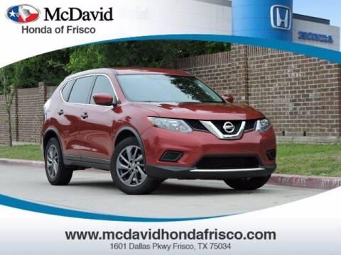 2016 Nissan Rogue for sale at DAVID McDAVID HONDA OF IRVING in Irving TX