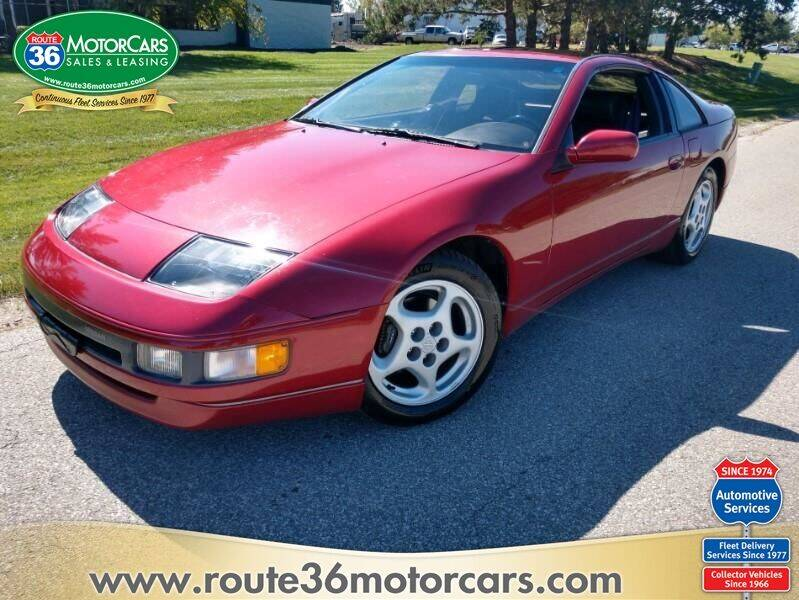 1990 Nissan 300ZX for sale at ROUTE 36 MOTORCARS in Dublin OH