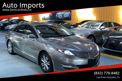 2015 Lincoln MKZ for sale at Auto Imports in Houston TX