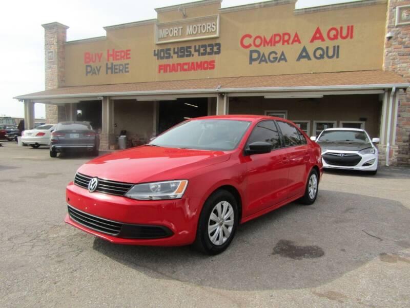 2014 Volkswagen Jetta for sale at Import Motors in Bethany OK