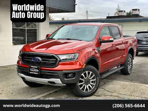 2019 Ford Ranger for sale at Worldwide Auto Group in Auburn WA