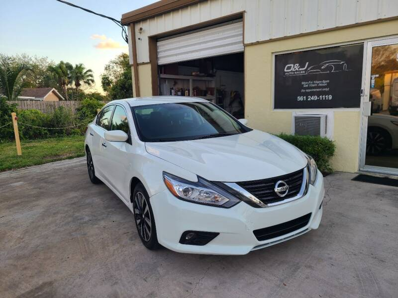 2018 Nissan Altima for sale at O & J Auto Sales in Royal Palm Beach FL