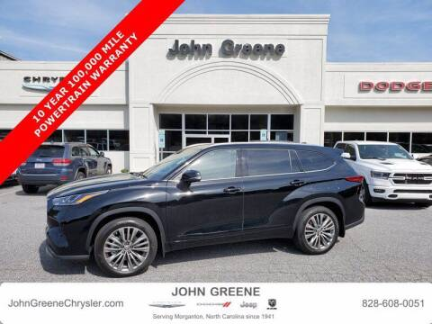 2021 Toyota Highlander for sale at John Greene Chrysler Dodge Jeep Ram in Morganton NC