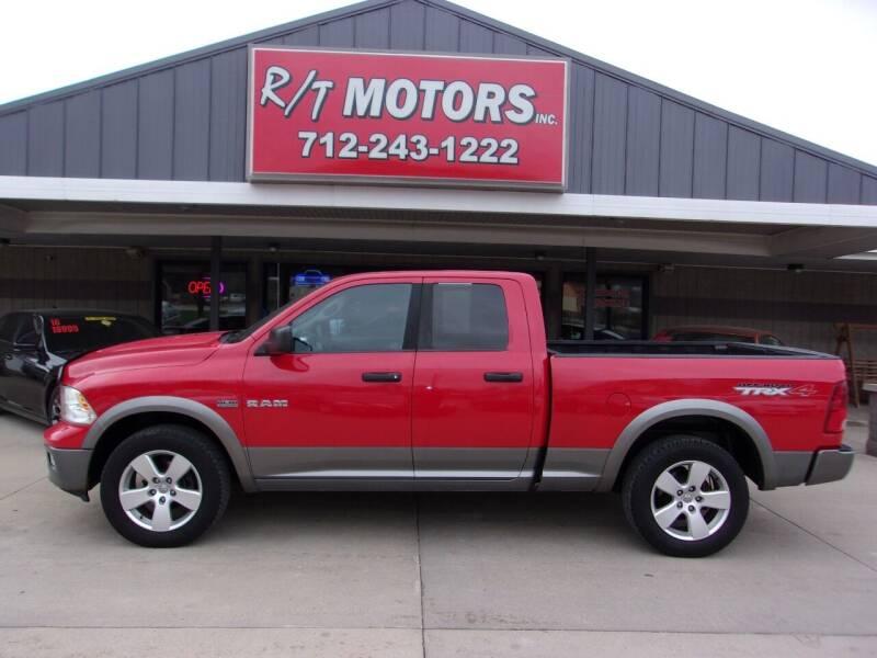 2010 Dodge Ram Pickup 1500 for sale at RT Motors Inc in Atlantic IA