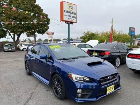 2015 Subaru WRX for sale at TDI AUTO SALES in Boise ID
