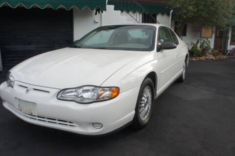 2001 Chevrolet Monte Carlo for sale at Dream Machines USA in Lantana FL