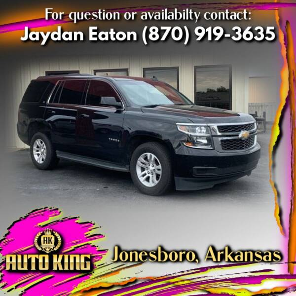2017 Chevrolet Tahoe for sale at AUTO KING in Jonesboro AR