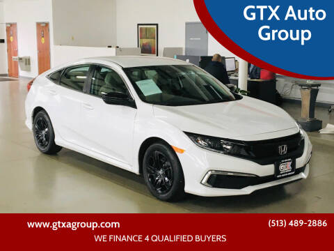2020 Honda Civic for sale at GTX Auto Group in West Chester OH