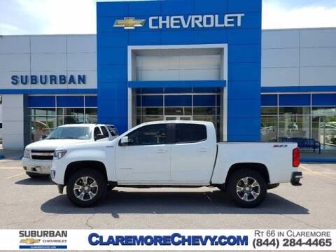 2016 Chevrolet Colorado for sale at Suburban Chevrolet in Claremore OK
