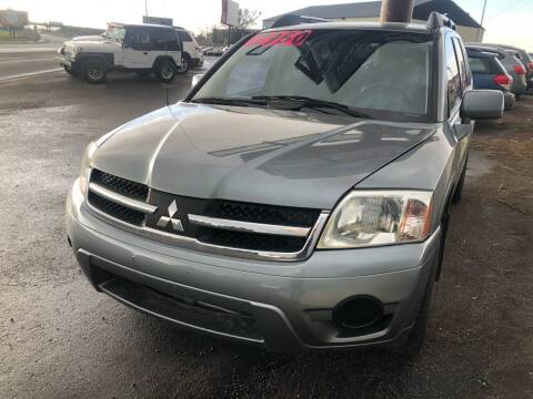 2007 Mitsubishi Endeavor for sale at BELOW BOOK AUTO SALES in Idaho Falls ID