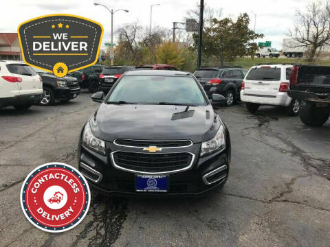 2015 Chevrolet Cruze for sale at E H Motors LLC in Milwaukee WI